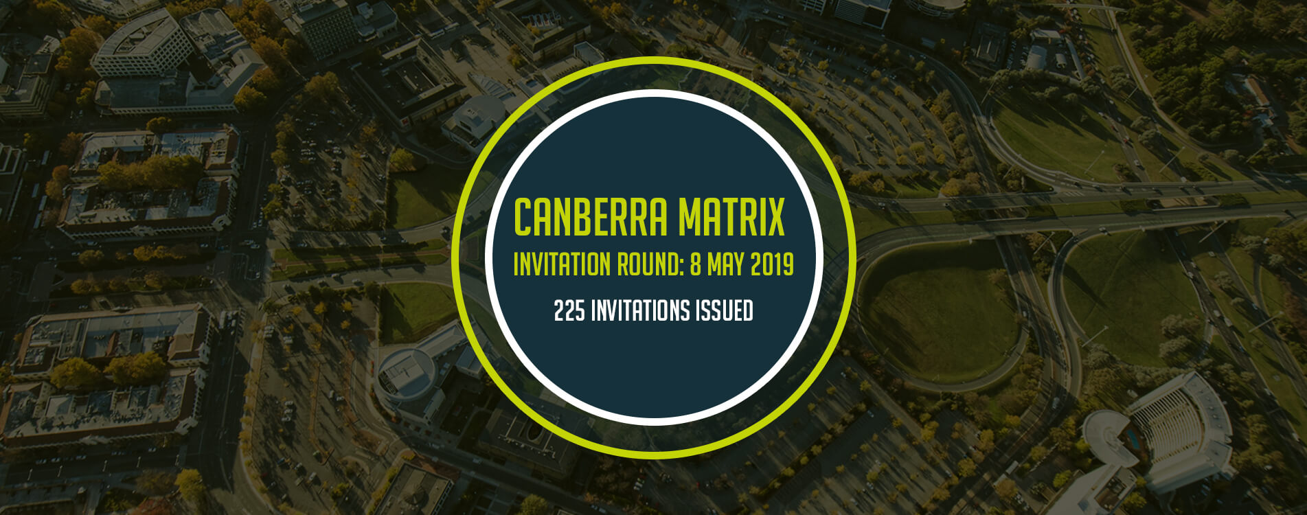 Canberra Matrix Invitation List for May 2019 is Out