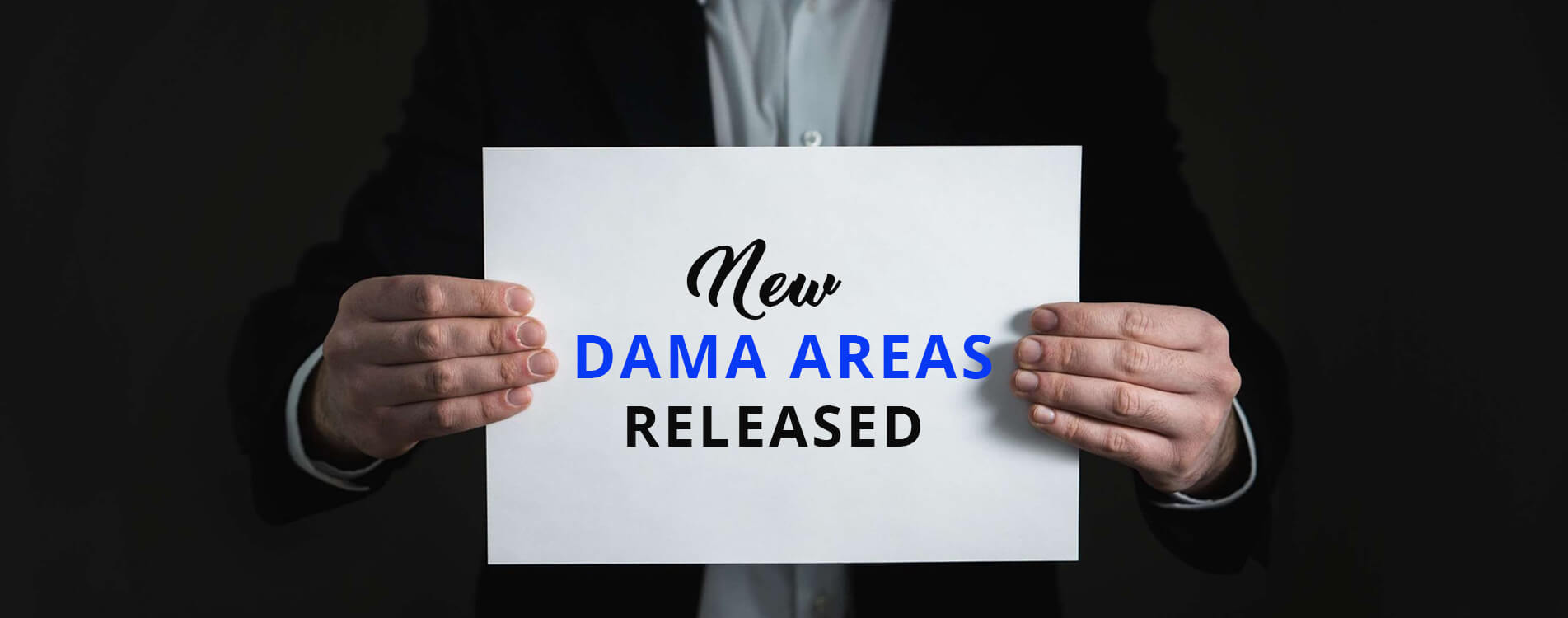 New DAMA Areas Released